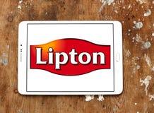 Logo della società del tè di Lipton Fotografia Stock Libera da Diritti