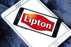 Logo della società del tè di Lipton Immagini Stock Libere da Diritti