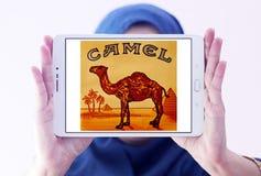 Logo della società delle sigarette del cammello Fotografie Stock
