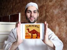 Logo della società delle sigarette del cammello Immagine Stock Libera da Diritti