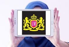 Logo della società delle sigarette di LM Immagini Stock Libere da Diritti