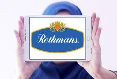 Logo della società delle sigarette di Rothmans Immagini Stock Libere da Diritti
