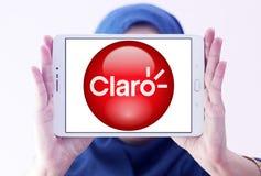 Logo della società delle Telecomunicazioni di Claro Americas Immagine Stock