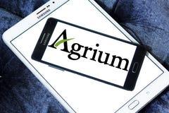 Logo della società di agricoltura di Agrium Fotografia Stock Libera da Diritti