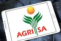 Logo della società di agricoltura di AgriSA Fotografia Stock