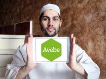 Logo della società di agricoltura di Avebe Fotografie Stock