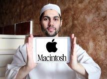 Logo della società di Apple Macintosh fotografia stock