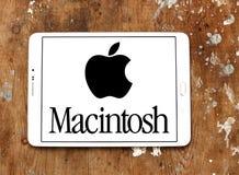 Logo della società di Apple Macintosh fotografie stock libere da diritti