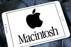 Logo della società di Apple Macintosh fotografia stock libera da diritti