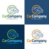 Logo della società di automobile ed icona - illustrazione di vettore Fotografie Stock Libere da Diritti