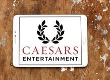Logo della società di Caesars Entertainment Immagini Stock