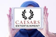 Logo della società di Caesars Entertainment Immagine Stock