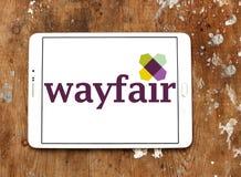 Logo della società di commercio elettronico di Wayfair Fotografie Stock Libere da Diritti