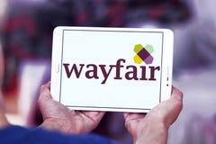 Logo della società di commercio elettronico di Wayfair Immagini Stock Libere da Diritti