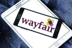 Logo della società di commercio elettronico di Wayfair Immagini Stock