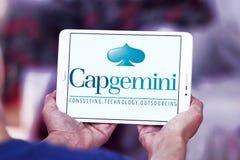 Logo della società di consulto di Capgemini Fotografia Stock