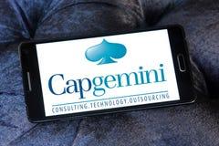 Logo della società di consulto di Capgemini Immagine Stock Libera da Diritti