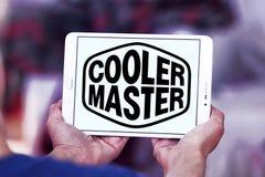 Logo della società di Cooler Master immagine stock