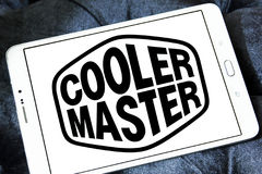 Logo della società di Cooler Master immagine stock libera da diritti