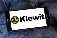 logo della società di costruzioni del kiewit Immagine Stock Libera da Diritti