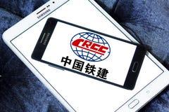 Logo della società di costruzioni di Crcc Immagini Stock Libere da Diritti