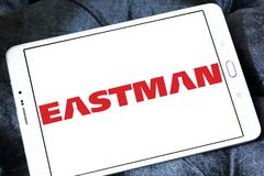 Logo della società di Eastman Chemical fotografia stock