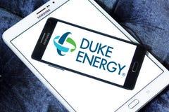 Logo della società di energia di duca Immagini Stock Libere da Diritti