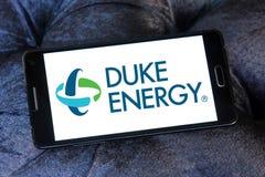 Logo della società di energia di duca Fotografia Stock