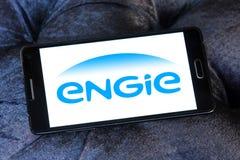 Logo della società di energia di Engie Immagine Stock
