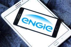 Logo della società di energia di Engie Fotografia Stock