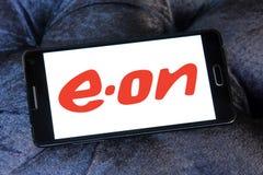 Logo della società di energia di eone Immagine Stock Libera da Diritti