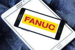 Logo della società di FANUC Immagine Stock Libera da Diritti