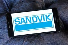 Logo della società di ingegneria di Sandvik Immagini Stock Libere da Diritti