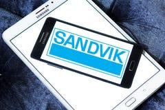 Logo della società di ingegneria di Sandvik Fotografia Stock Libera da Diritti
