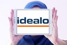 Logo della società di Internet di Idealo Fotografia Stock Libera da Diritti