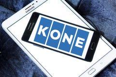 Logo della società di Kone Immagini Stock