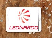 Logo della società di Leonardo Immagini Stock Libere da Diritti