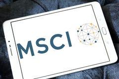 Logo della società di MSCI immagini stock libere da diritti