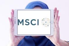Logo della società di MSCI immagine stock libera da diritti