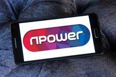 Logo della società di Npower Fotografie Stock Libere da Diritti