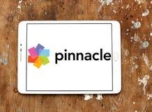 Logo della società di Pinnacle Systems fotografia stock libera da diritti