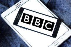 Logo della società di radiodiffusione di BBC Fotografie Stock Libere da Diritti
