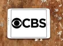 Logo della società di radiodiffusione di CBS Immagini Stock