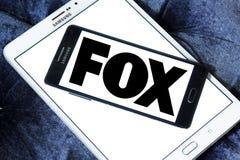 Logo della società di radiodiffusione di Fox Immagini Stock