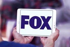 Logo della società di radiodiffusione di Fox Immagine Stock