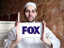 Logo della società di radiodiffusione di Fox Fotografia Stock Libera da Diritti