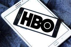 Logo della società di radiodiffusione di Hbo Fotografia Stock