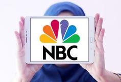 Logo della società di radiodiffusione di NBC Immagini Stock