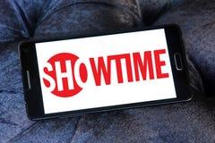 Logo della società di radiodiffusione di Showtime Immagini Stock