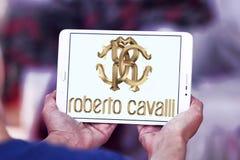 Logo della società di Roberto Cavalli Fotografie Stock Libere da Diritti